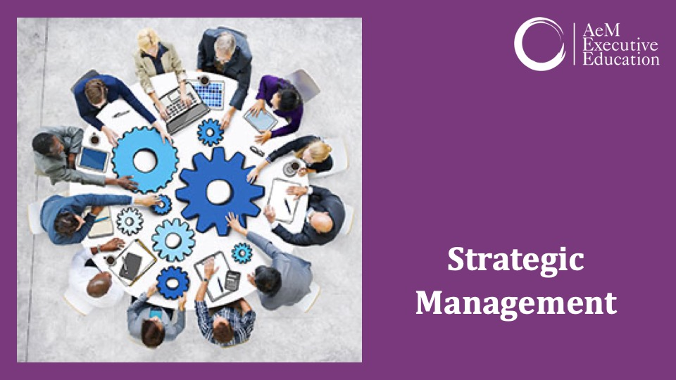 STR701: Strategic Management-Jul 2021