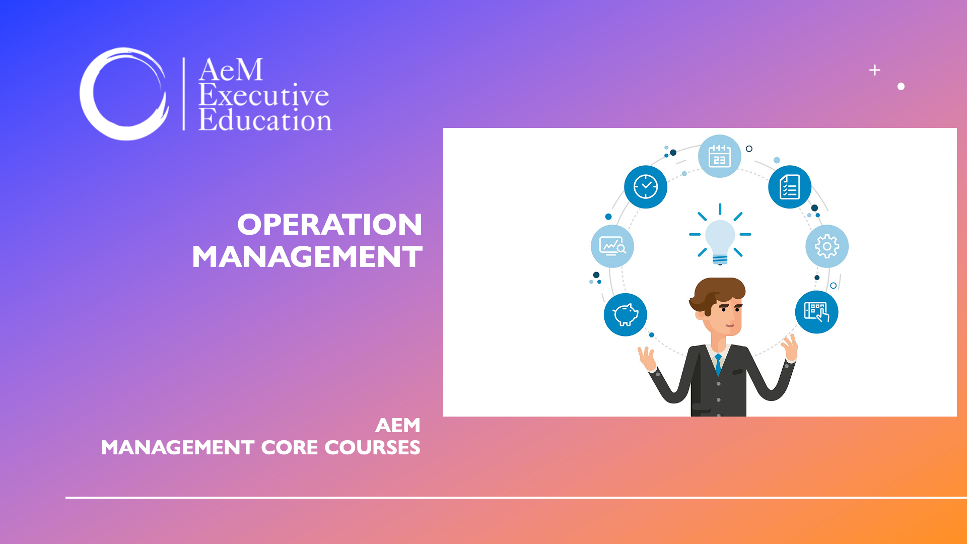 Operation Management and Resources Planning